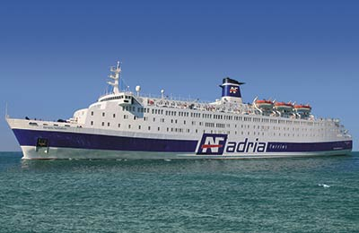 Adria Ferries Vracht