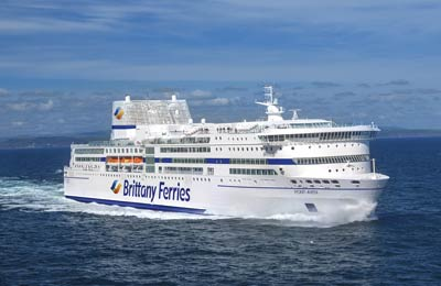 Brittany Ferries Vracht