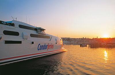 Condor Ferries Vracht