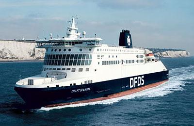 DFDS Ferries Vracht