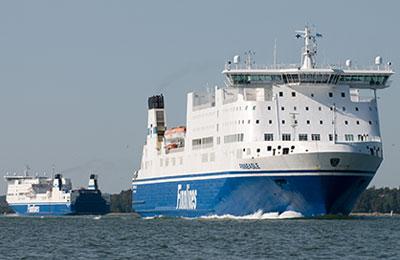 Finnlines Vracht