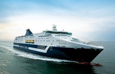 Grimaldi Ferries Vracht