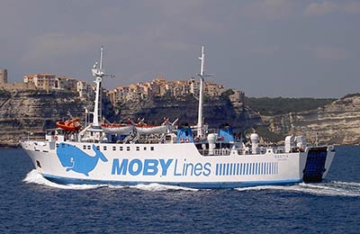 Moby Lines Vracht