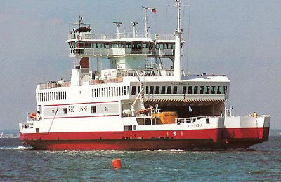 Red Funnel Ferries Vracht