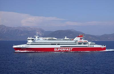 Superfast Ferries Vracht