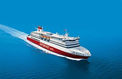 Superfast Ferries Vracht