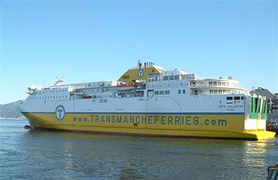 Transmanche Ferries Vracht