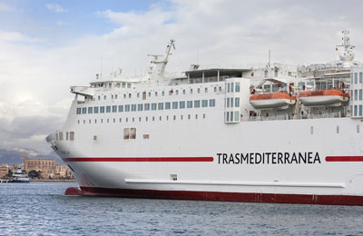 Trasmediterranea Vracht