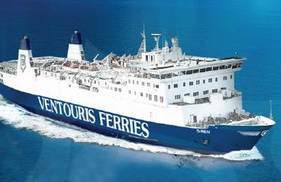 Ventouris Ferries Vracht